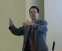 Eric Cornell lecturing